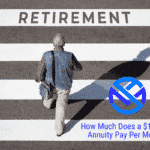 How much does a $100,000 annuity pay per month?