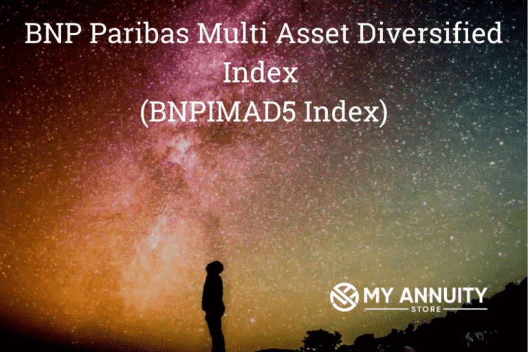Image of person looking into star filled sky - bnp paribas multi asset diversified index (bnpimad5 index)