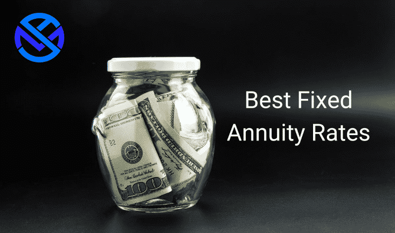 Best 5 year fixed annuity rates with coins in glass jar. 2