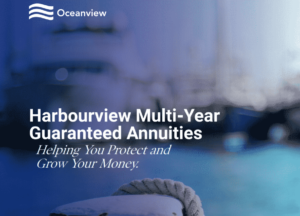 Picture of oceanview harbourview fixed annuity brochure cover