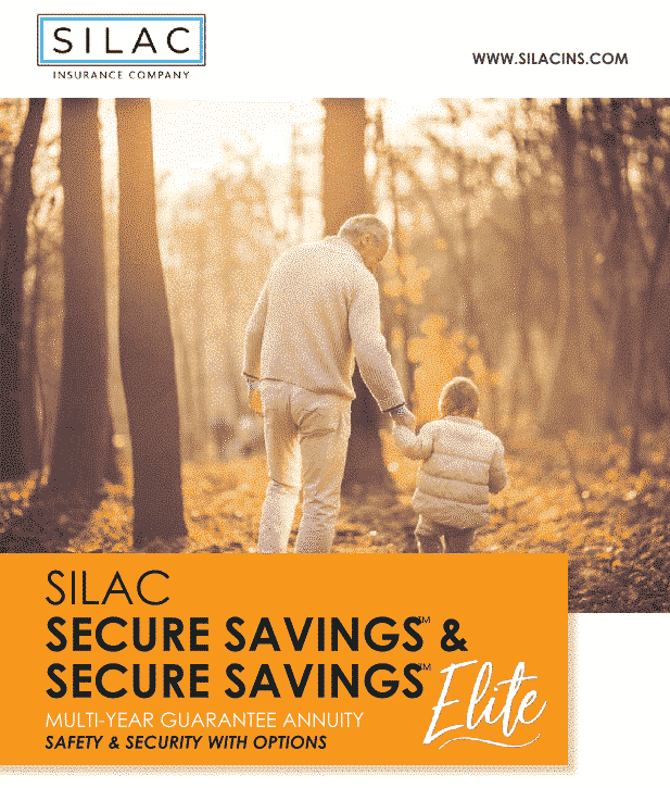 Silac fixed annuity brochure cover